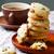 cornmeal chocolate chunk cookies raisins stock photo © zoryanchik