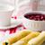 cereza · salsa · estilo · alimentos · placa - foto stock © zoryanchik
