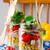 層 · サラダ · ヴィンテージ · jarファイル · レイヤード · 新鮮な野菜 - ストックフォト © zoryanchik