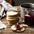 scottish oatcakes with cowberry jamstyle rustic stock photo © zoryanchik