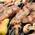 barbecue · előkészített · marhahús · hús · különböző · zöldségek - stock fotó © zurijeta