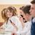 schoolmeisje · make · gezicht · vergadering · klas · onderwijs - stockfoto © zurijeta