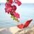 sereg · rózsaszín · pihen · tenger · nyárs · madár - stock fotó © zurijeta
