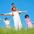 幸せな家族 · 4 · 白 · 笑顔 · 子供 · 愛 - ストックフォト © zurijeta
