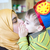 счастливым · матери · целоваться · ребенка · мальчика · фотография - Сток-фото © zurijeta