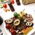 подготовленный · украшенный · продовольствие · таблице · домой - Сток-фото © zurijeta