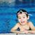 少年 · スイミングプール · ゴーグル · 青 · 肖像 - ストックフォト © zurijeta