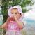 potable · leche · pequeño · nina · nino - foto stock © zurijeta