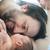 bebek · ilk · baba · yüz · mutlu - stok fotoğraf © zurijeta