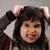 écolier · astucieux · Kid · ans · vieux · expressions · faciales - photo stock © zurijeta