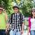three teenagers walking stock photo © zurijeta