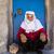 velho · tradicional · herança · mulher · posando - foto stock © zurijeta