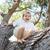 infância · férias · de · verão · sorrir · cara · homem - foto stock © zurijeta
