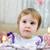 estatica · felice · piccolo · ragazza · cute - foto d'archivio © zurijeta