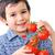 tomates · mãos · vermelho · videira · branco · jardim - foto stock © zurijeta