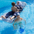 muslim · ragazza · speciale · nuoto · suit · acqua - foto d'archivio © zurijeta