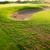 perfect · groen · gras · golf · veld · berg · schemering - stockfoto © zurijeta