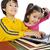 学生 · 少年 · 階 · 図書 · コンピュータ · ラップトップコンピュータ - ストックフォト © zurijeta