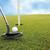 senior · jogador · de · golfe · buraco · homem · golfe · esportes - foto stock © zurijeta