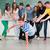 studenten · middelbare · school · klas · dans - stockfoto © zurijeta