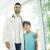 férfi · orvos · megvizsgál · fiú · beteg · férfi · gyermek - stock fotó © zurijeta