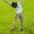 heureux · Kid · belle · vert · jaune · champ · d'herbe - photo stock © zurijeta