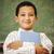kinderen · school · klas · handen · glimlach · kind - stockfoto © zurijeta