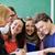 studenten · lezing · hoogleraar · groep · klas · boek - stockfoto © zurijeta