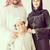 Arabic family posing and smiling stock photo © zurijeta