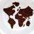 dünya · haritası · kahve · fincanı · kahve · uzay · dinlenmek · plaka - stok fotoğraf © zurijeta