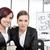 colega · apresentação · escritório · mulher - foto stock © zurijeta