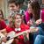 giovani · amici · giocare · strada · gruppo · musica - foto d'archivio © zurijeta