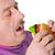 太った男 · ルックス · ハンバーガー · 白 · 食品 · ボディ - ストックフォト © zurijeta