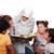 小さな · ムスリム · 女性 · 伝統的な · 服 · 教育 - ストックフォト © zurijeta