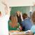 feliz · maestro · mirando · clase · estudiantes · educación - foto stock © zurijeta
