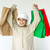 Arabic kid with shopping bags stock photo © zurijeta