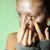 beautiful woman putting mascara on her eyes   make up concepts stock photo © zurijeta