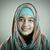 portre · güzel · Müslüman · Arapça · kız · gülümseme - stok fotoğraf © zurijeta