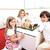 gelukkig · gezin · spelen · nieuw · huis · moeder · dochter - stockfoto © zurijeta