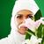 gyönyörű · fiatal · távolkeleti · menyasszony · esküvő · boldog - stock fotó © zurijeta