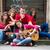 девушки · расслабляющая · музыку · улице · красивой - Сток-фото © zurijeta