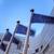 europeo · Unión · banderas · edificio · Bruselas · Bélgica - foto stock © zurijeta