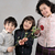 beautiful kids with red rose stock photo © zurijeta