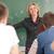 hoogleraar · college · blond · kaukasisch · leraar · onderwijs - stockfoto © zurijeta