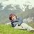 子供 · 美しい · 春 · 休暇 · のどかな · アルプス山脈 - ストックフォト © zurijeta
