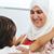 muçulmano · árabe · mãe · dois · amor · cuidar - foto stock © zurijeta