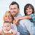 happy family hugging stock photo © zurijeta