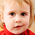 super · cute · baby · meisje · hand · glimlach - stockfoto © zurijeta