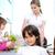 családi · portré · gyönyörű · anya · kettő · gyerekek · játékos - stock fotó © zurijeta