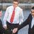 two businessmen sealing a deal stock photo © zurijeta